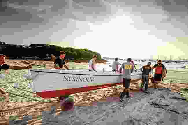 St Mary's racing gig, Nornour, dating back to 1971 (Wanderlust)