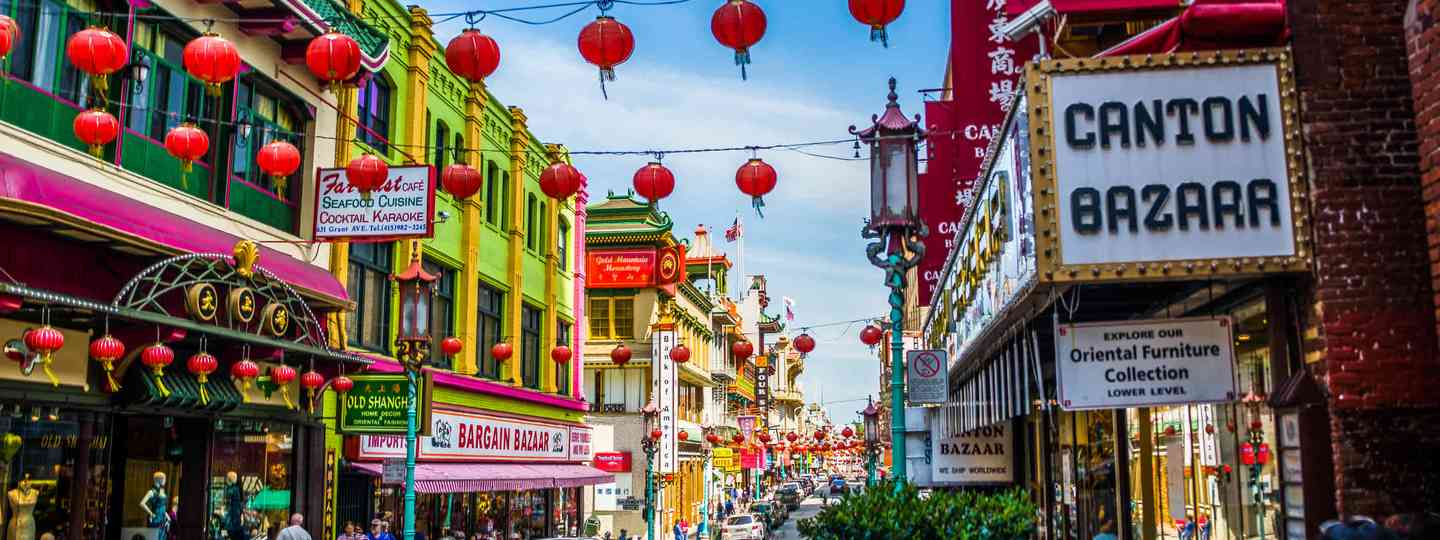 San Francisco's Chinatown (Dreamstime)