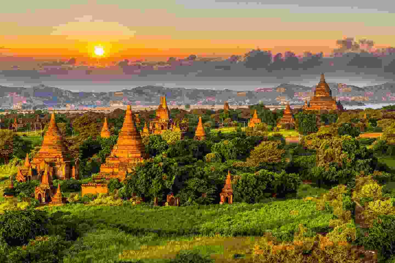 Bagan Temple, Myanmar (Shutterstock)