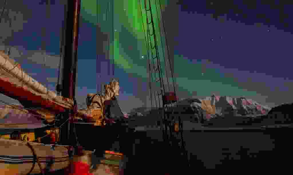 Gaze at the northern lights from the comfort of your schooner (Credit: Jan Belgers)