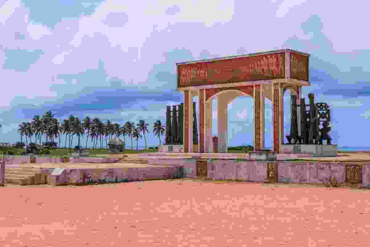 The Gate of No Return in Ouidah, Benin (Shutterstock)