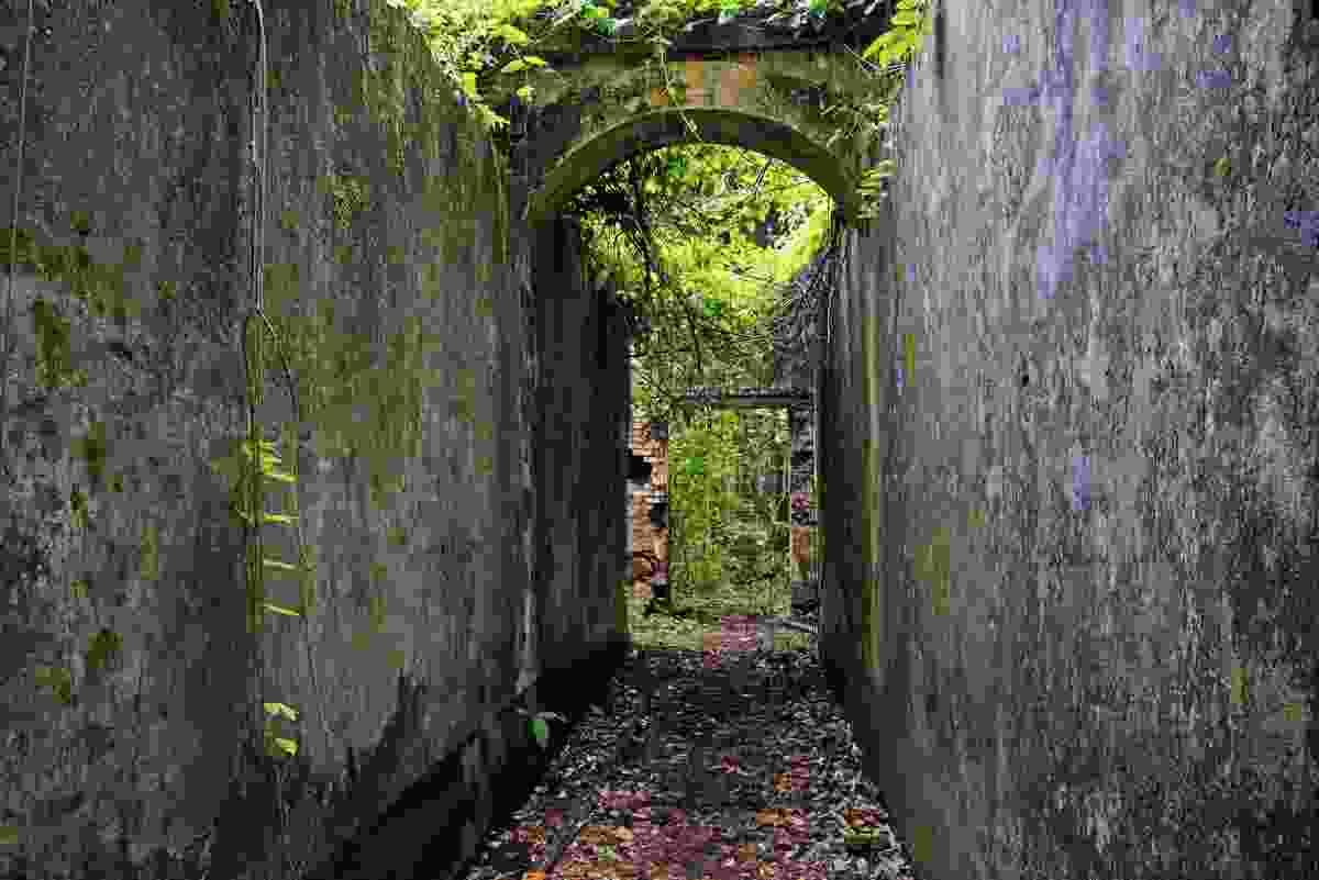 The walls of the defunct Devil's Island prison, French Guiana (Shutterstock)