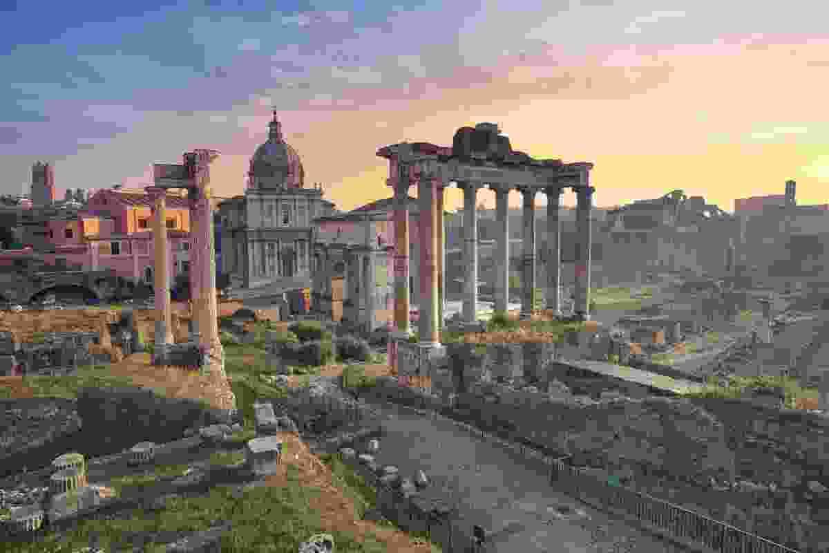 The Roman Forum (Shutterstock)