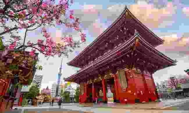 Tokyo, Japan - Sensoji-ji Temple in Asakusa in the morning (Shutterstock)
