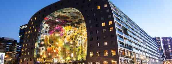 Rotterdam's futurist market hall (Dreamstime)