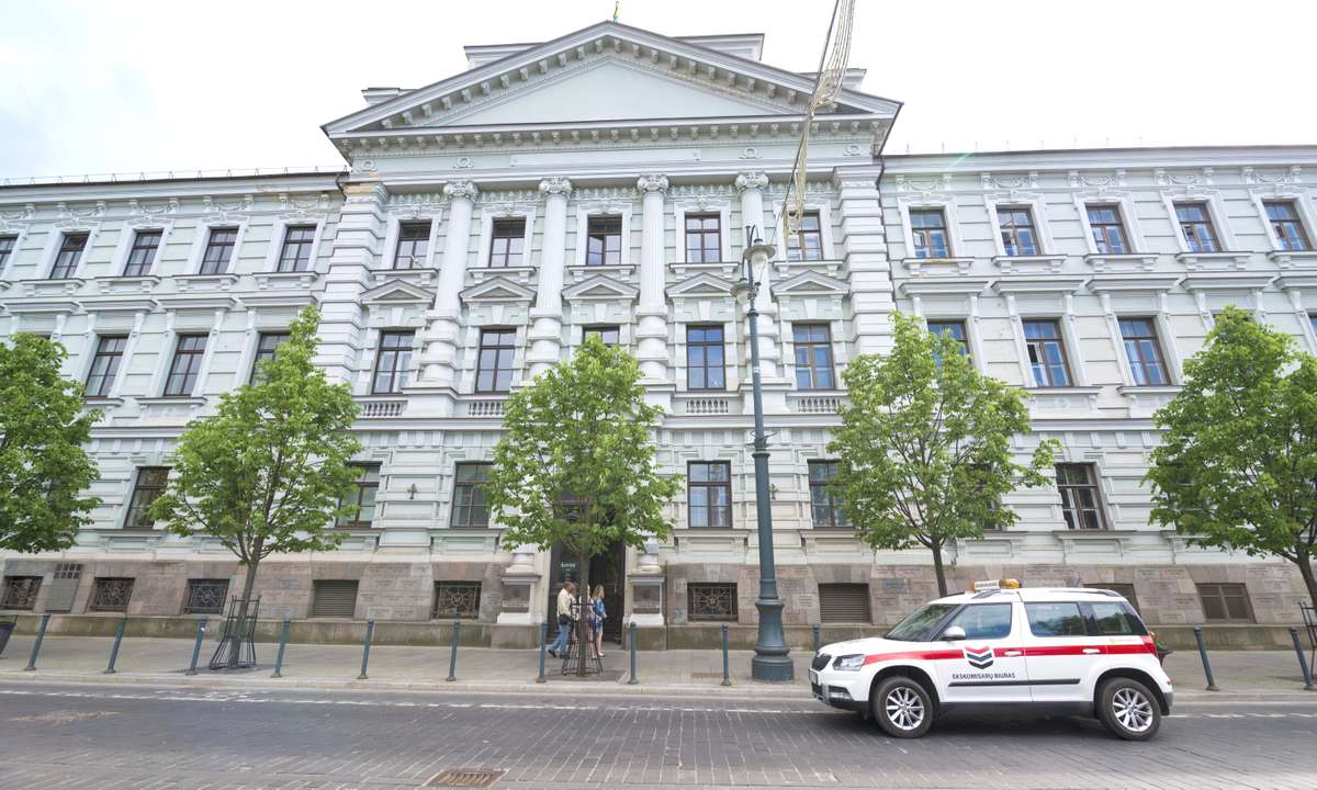 The Museum of Genocide Victims, Vilnius (Dreamstime)