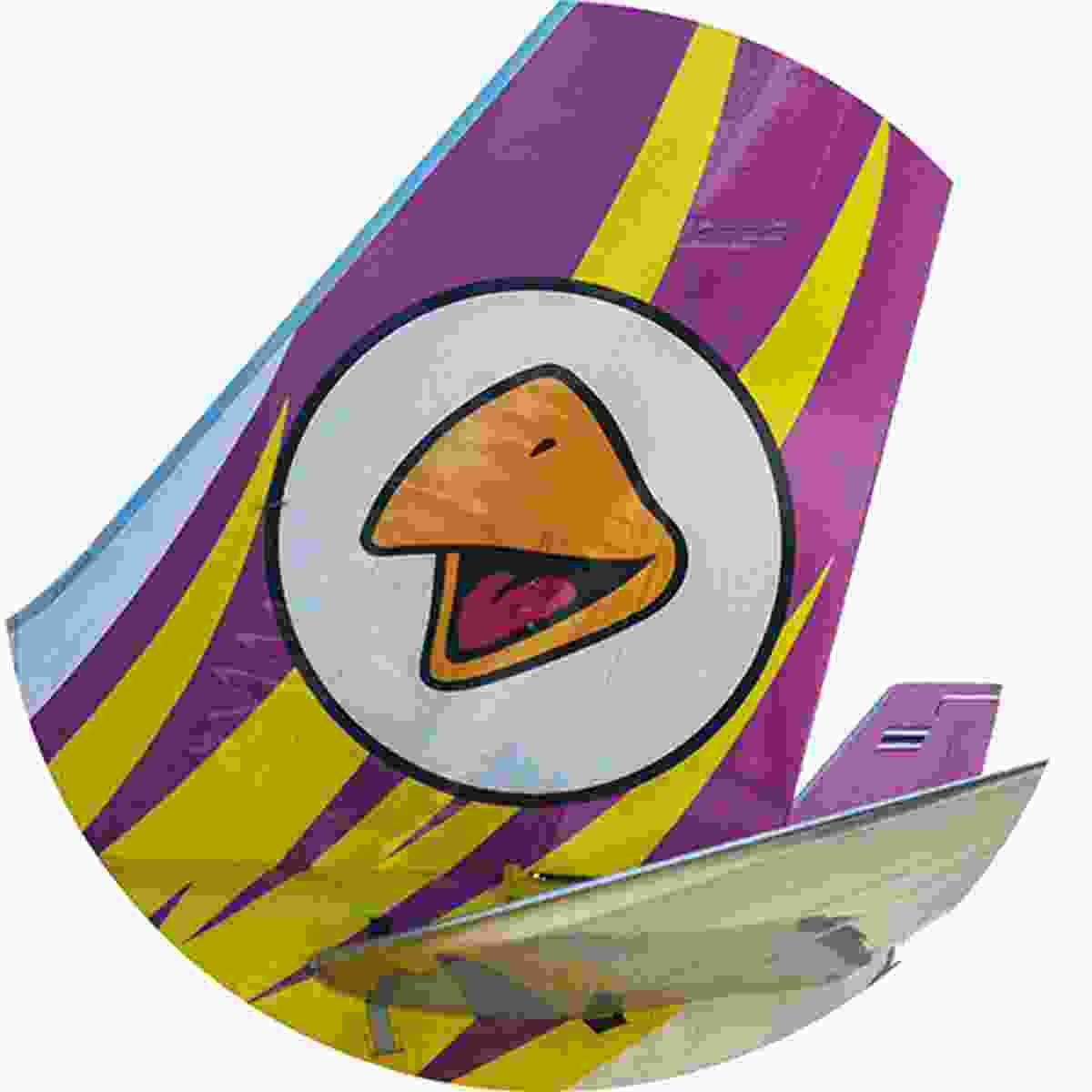 Nok Air's Angry Birds livery (Shutterstock)