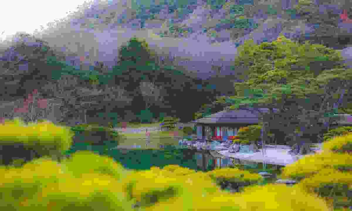 Ritsurin Garden in Takamatsu (Shutterstock)