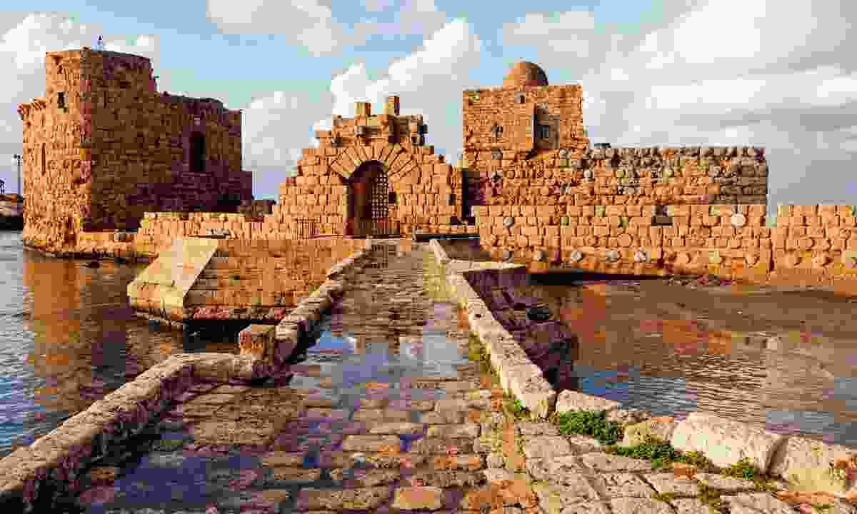 The sea castle at Sidon (Shutterstock)