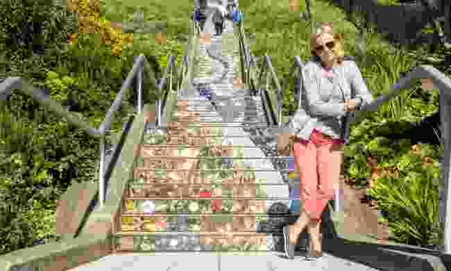 16th Avenue Tiles Steps, San Francisco (Shutterstock)