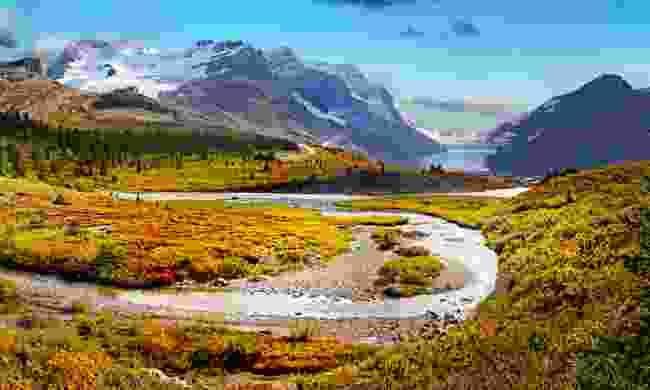Athabasca Glacier (Dreamstime)