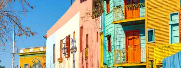 The brightly-coloured El Caminito neighboured in capital Buenos Aires (Shutterstock)