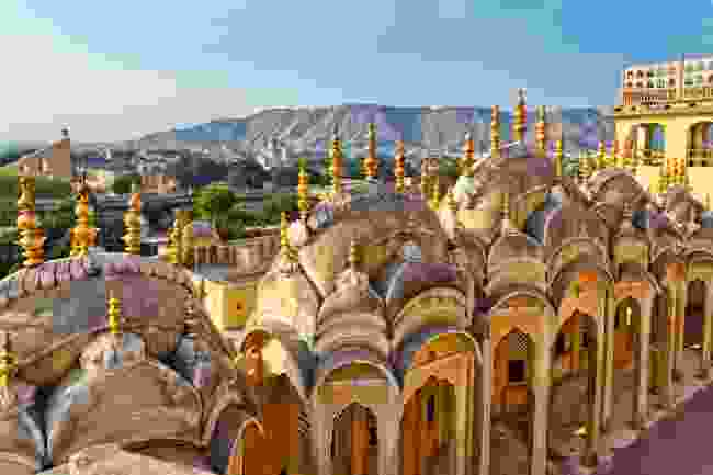 Exterior of Jaipur's City Palace (Dreamstime)
