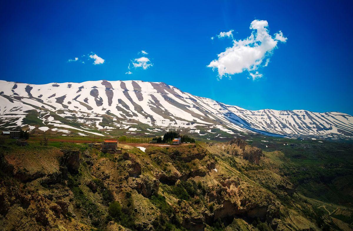 Hiking through Kadisha Valley, Lebanon