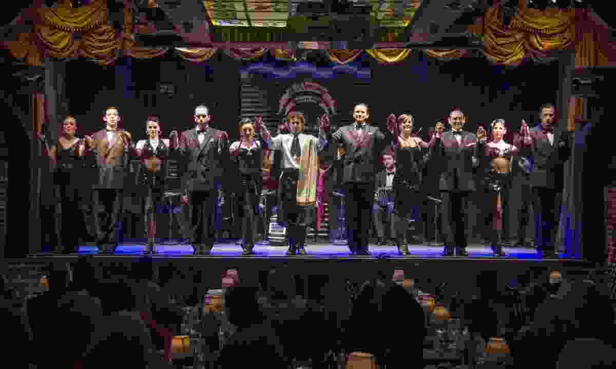 Taking a bow after the final performance (Chris Moss)