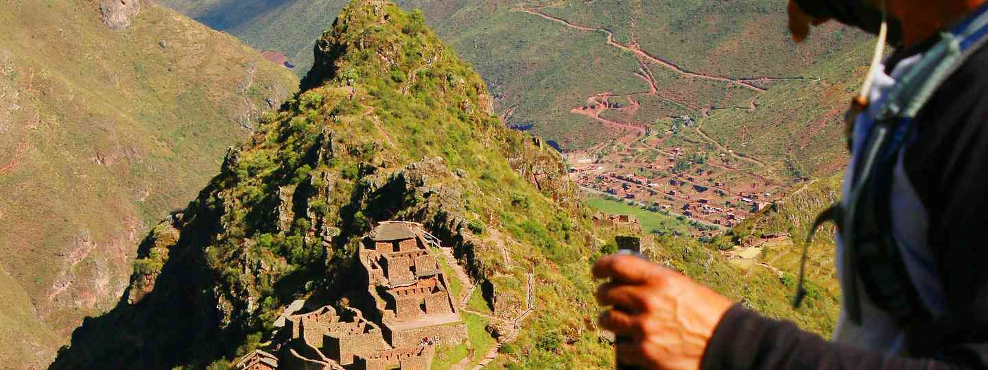 The ruins of Pisac show how the past is still very much alive in the Lares Valley (Paul Bloomfield)