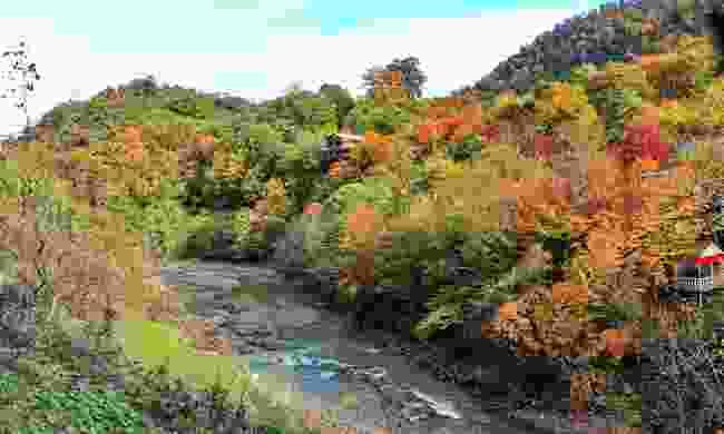 Autumn landscape of the Talysh mountains (Shutterstock)