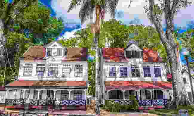 It's easy to spot the Dutch influence on the architecture of Suriname's capital (Shutterstock)