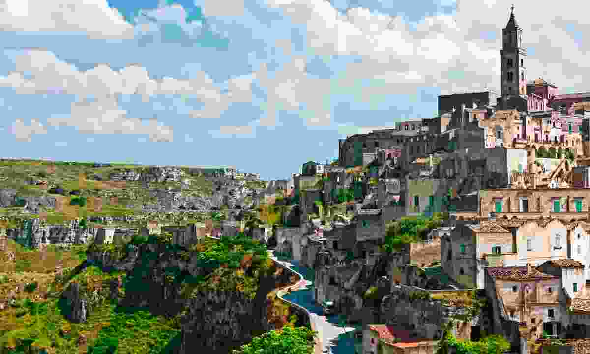 Charming Matera is one of two cities to be names European Capital of Culture (Shutterstock)