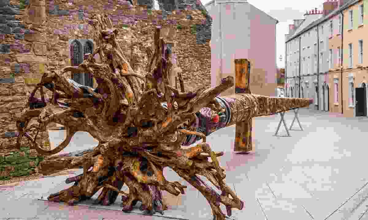 A viking sword sculpture in Waterford city (Karl Davis)