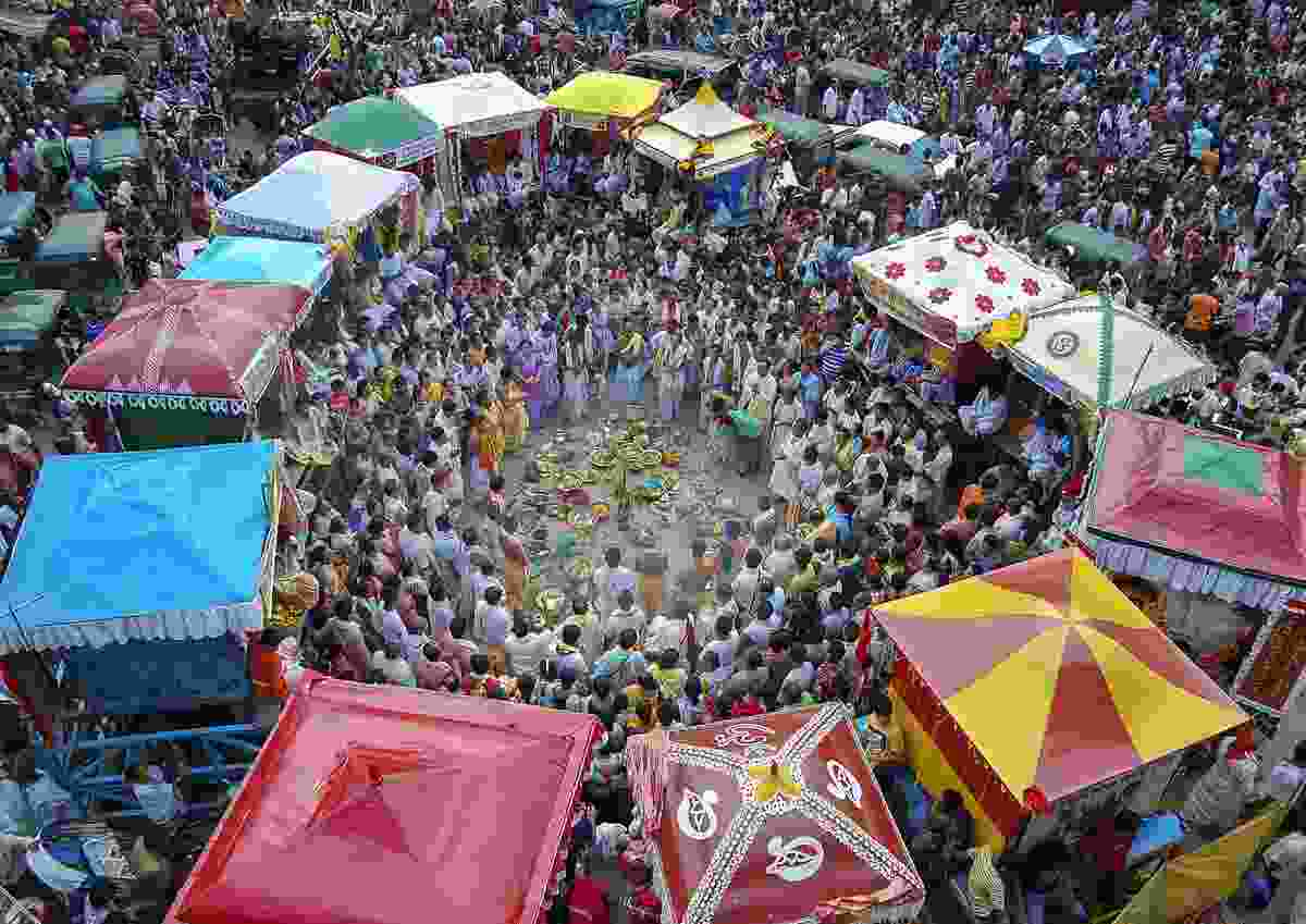 Ratha Yatra Festival at Rikabi Bazar Point, Sylhet, Bangladesh (Md Rafayat Haque Khan)