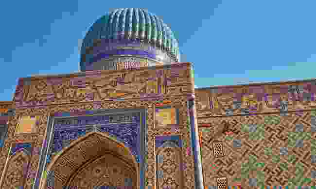 The tomb of Khoja Ahmed Yasawi (Shutterstock)