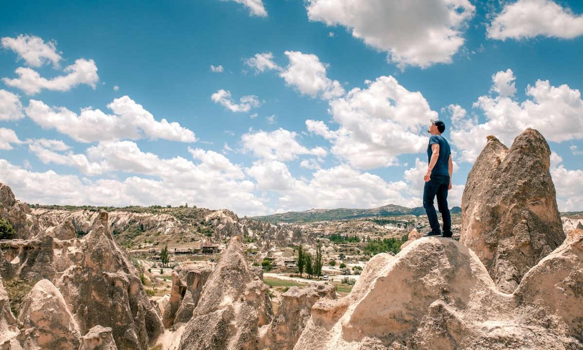 Walking in Cappadocia (Dreamstime)