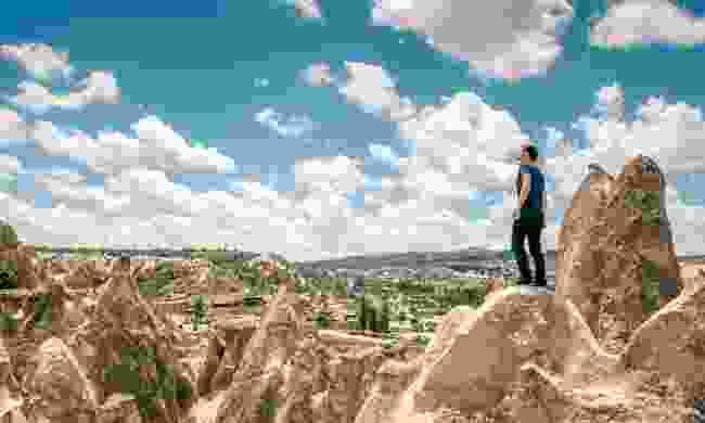 Walking in Cappadocia (Dreamstime)