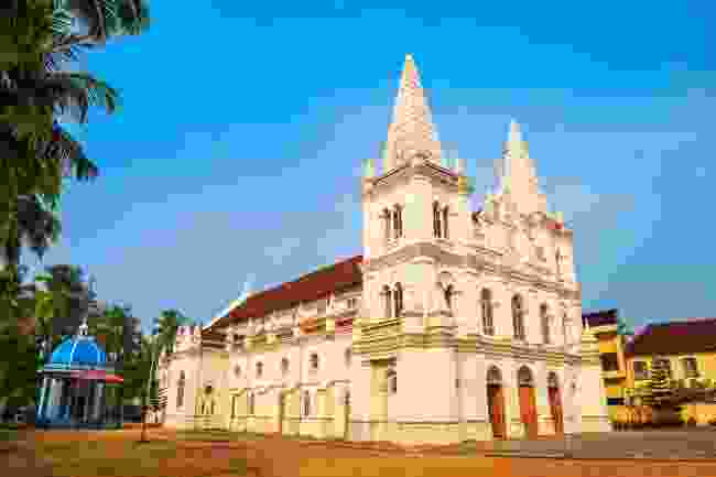 Santa Cruz Basilica in Fort Kochi (Shutterstock)