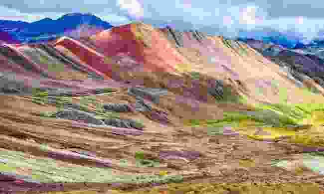 Rainbow mountains (Dreamstime)