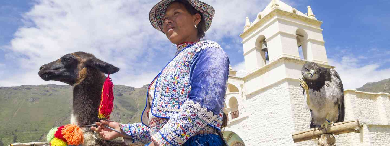 Bolivian woman (Dreamstime)