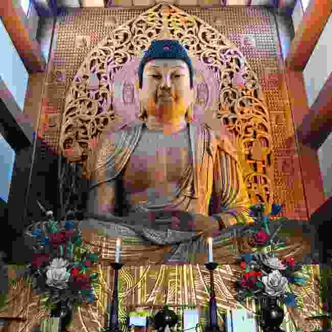 The 16m Buddha of Tojida Temple