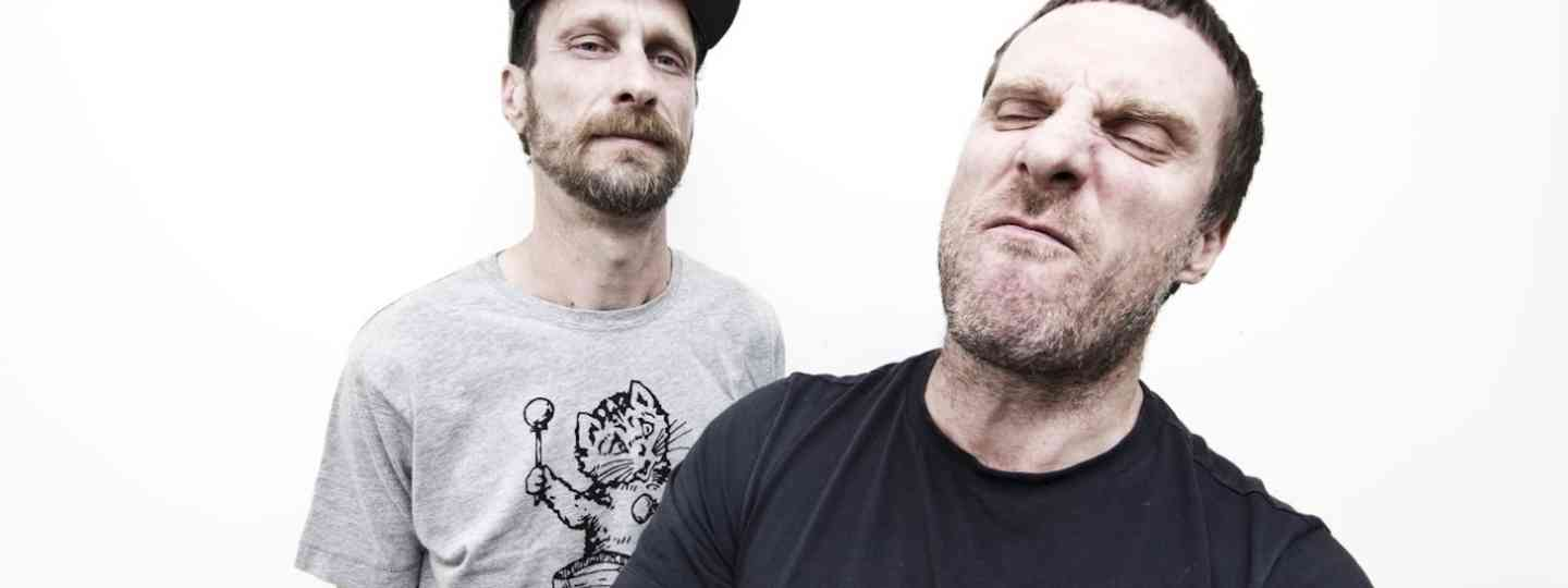 Jason Williamson and Sleaford Mods bandmate Andrew Fearn