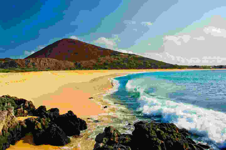 Long beach on Ascension Island (Shutterstock)