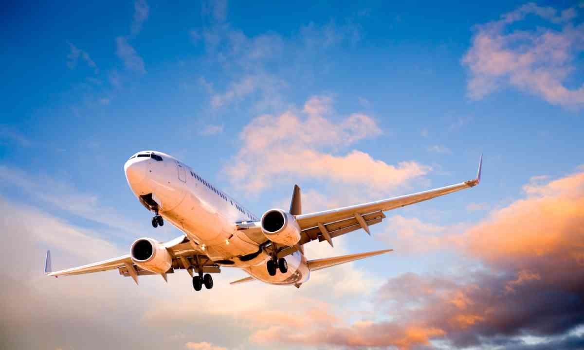 Flying at sunset (Shutterstock)