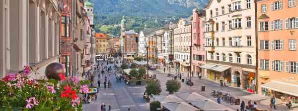 The town of Innsbruck (Christof Lackner)
