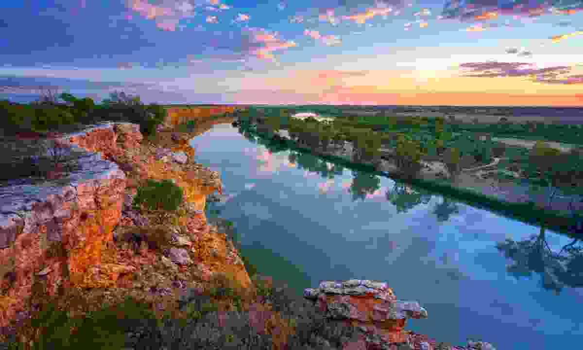 Murray River at sunset (Shutterstock)