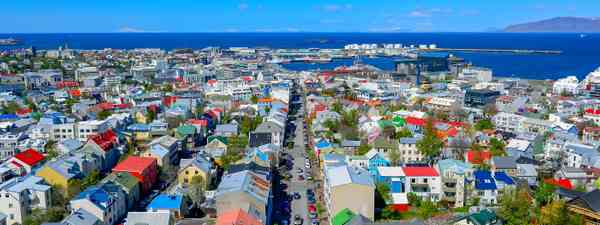 The view of Reykjavik from Hallgrímskirkja (Shutterstock)