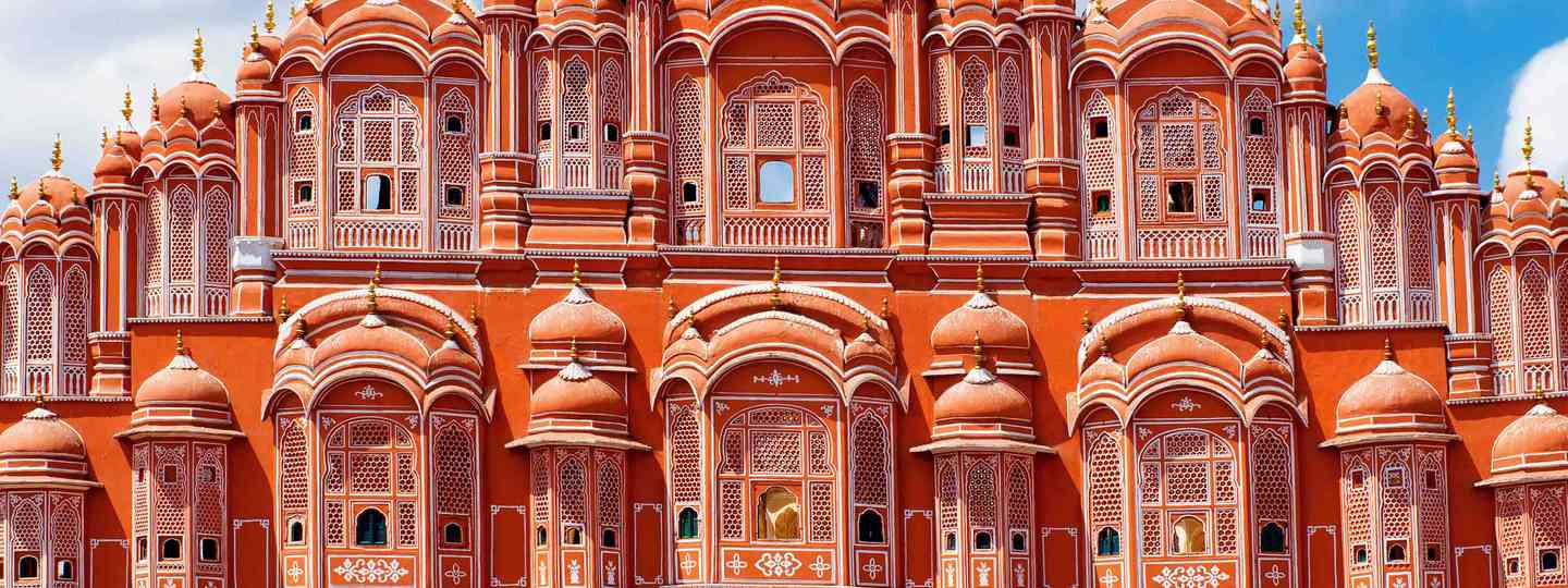 The Pink City of Jaiput, Rajasthan, India (Shutterstock)
