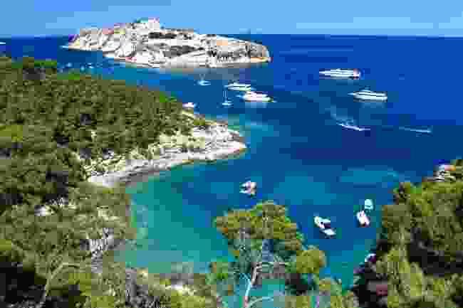 Tremity Island, off the Adriatic Coast between Rimini and Bari (Shutterstock)