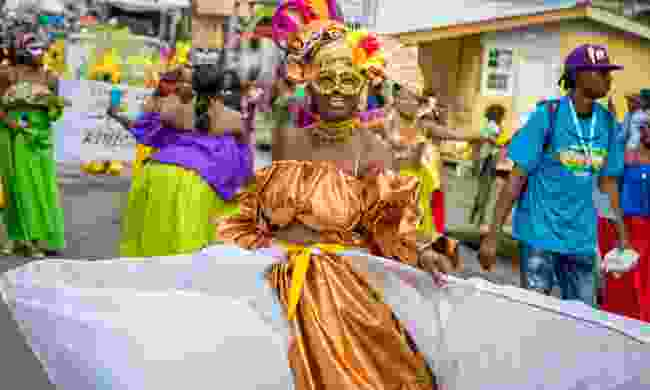Carnival takes place every year on the Monday or Tuesday before Ash Wednesday