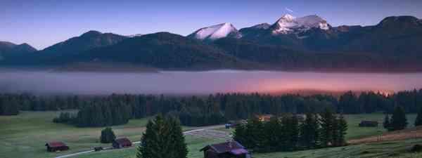 The landscapes of Alpenwelt Karwendel