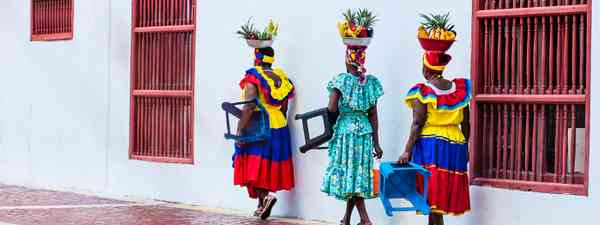 Women in Colombia (Shutterstock)
