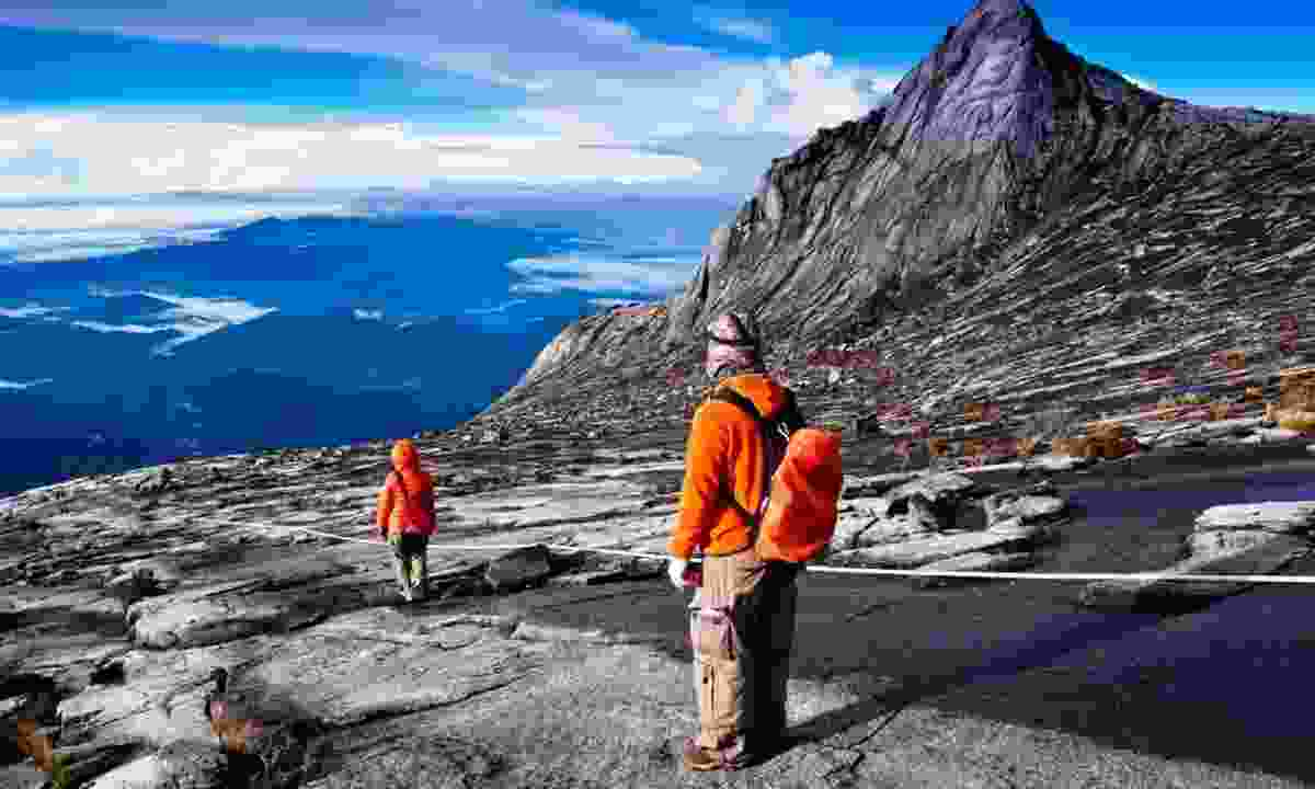 Trekking on Mount Kinabalu (Regent Holidays)