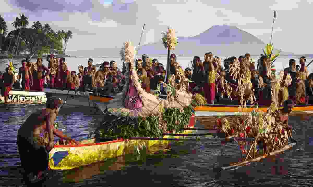 Mask festival in Kokopo (Dreamstime)