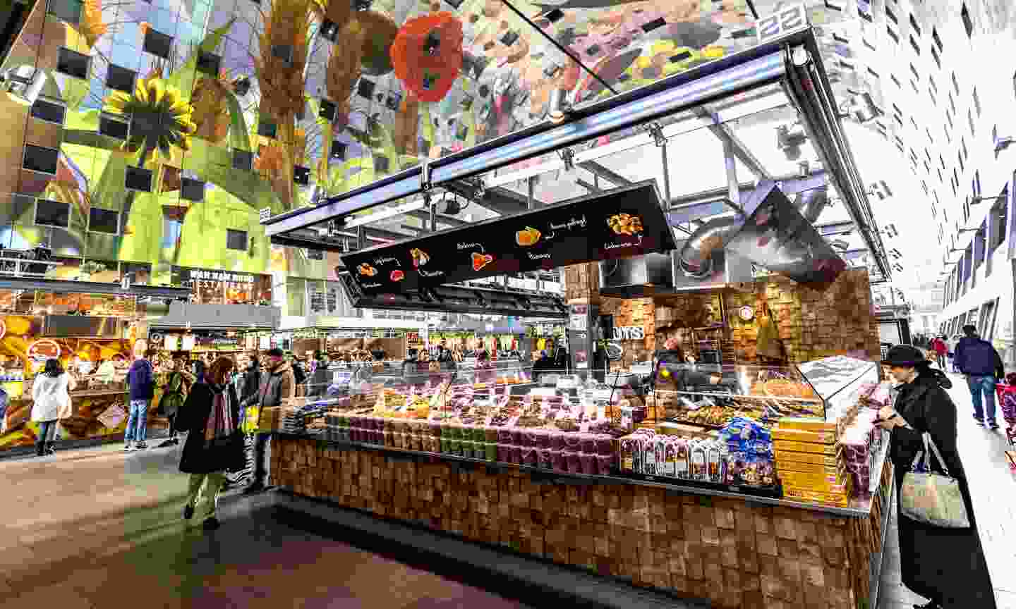 Food stall in the Markthal (Dreamstime)