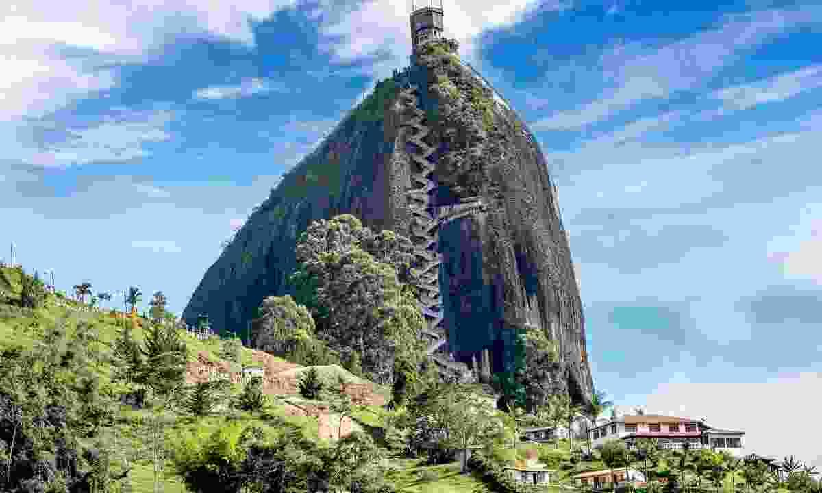 Rock of Guatape, Piedra de Penol, Colombia (Shutterstock)