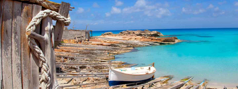 A boat on Formentera Island (Dreamstime)