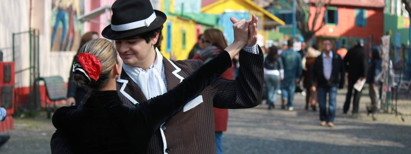 Dancing in the streets of Buenos Aires