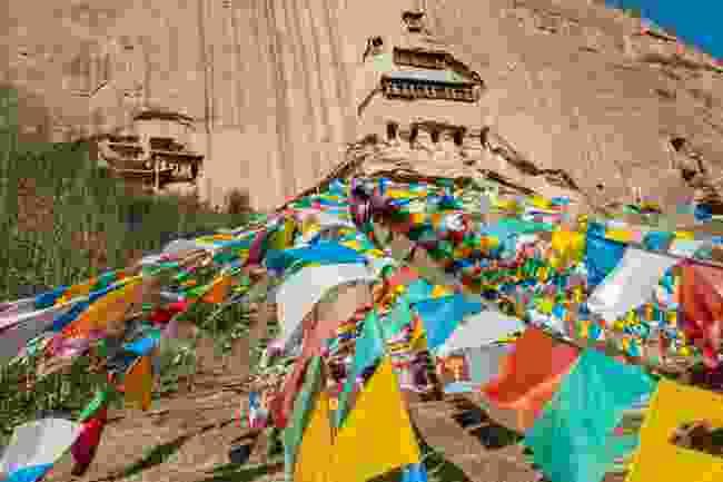 The Mati Si Temple, Gansu, Zhangye (Dreamstime)